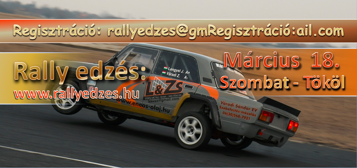 Rally edzés 20170318